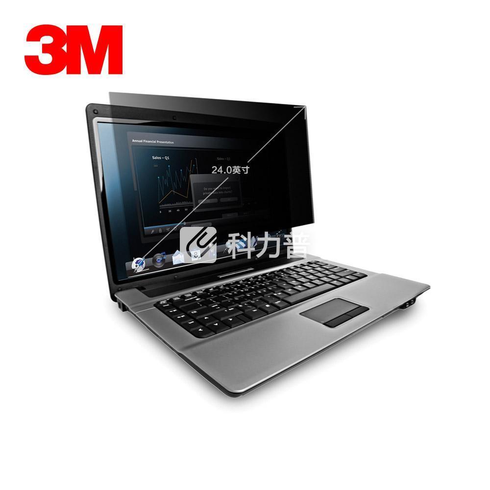 3M 电脑光学防窥片 PF24.0W 24.0英寸16:10宽屏 宽519mmx高325mm