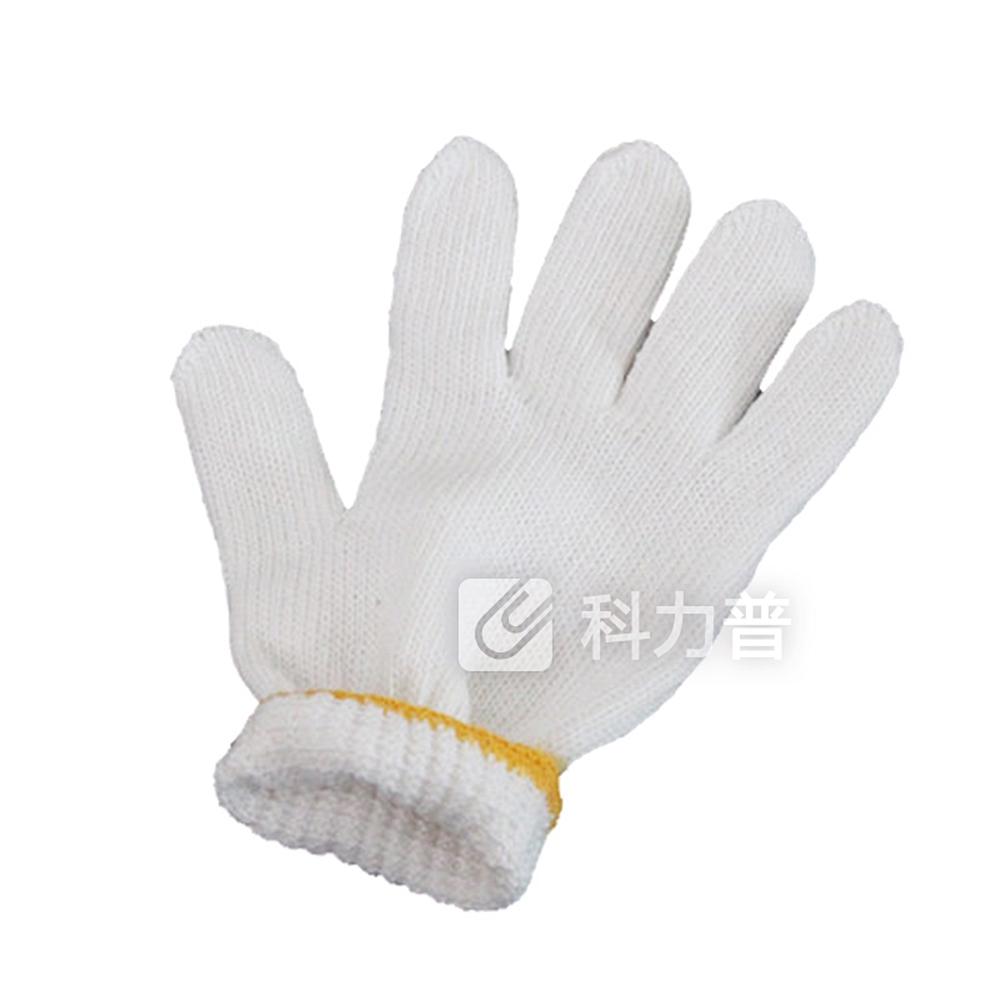国产 本白十针纱手套 600g 12副/打