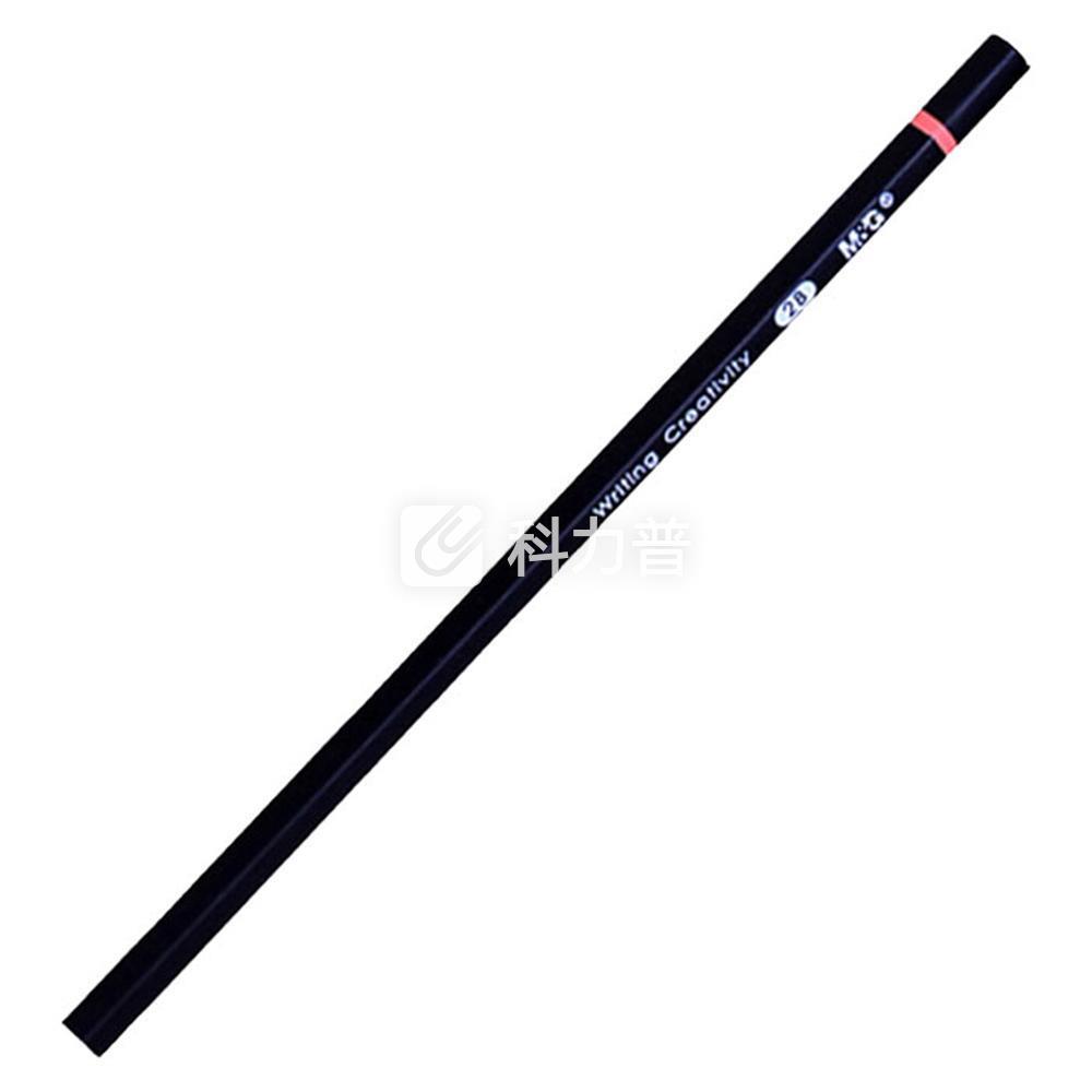 晨光 M&G 2B铅笔 AWP34601 (蓝、黑色笔杆,颜色随机) 12支/盒