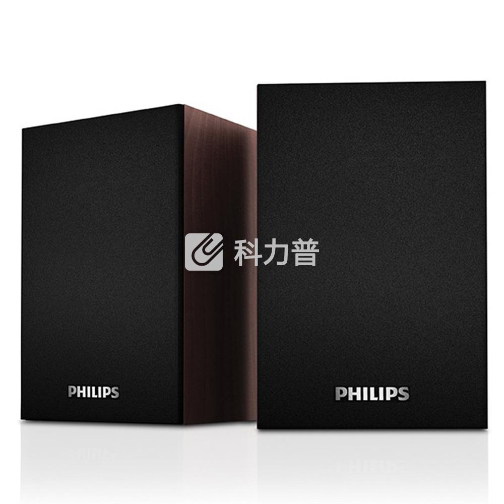 飞利浦 PHILIPS 桌面小音箱 SPA20(黑色)