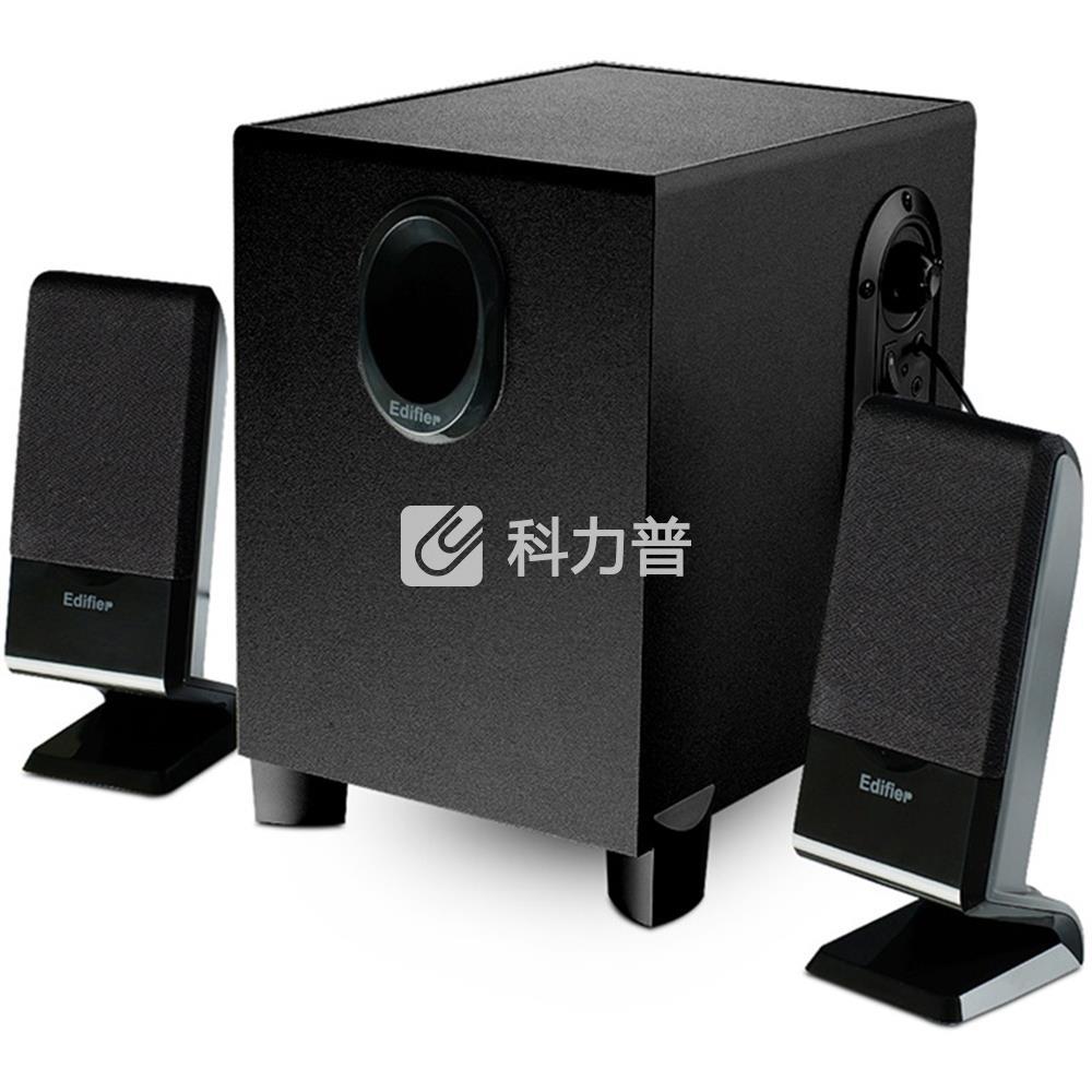 漫步者 EDIFIER 多媒体音箱 R101V 2.1声道(黑色)