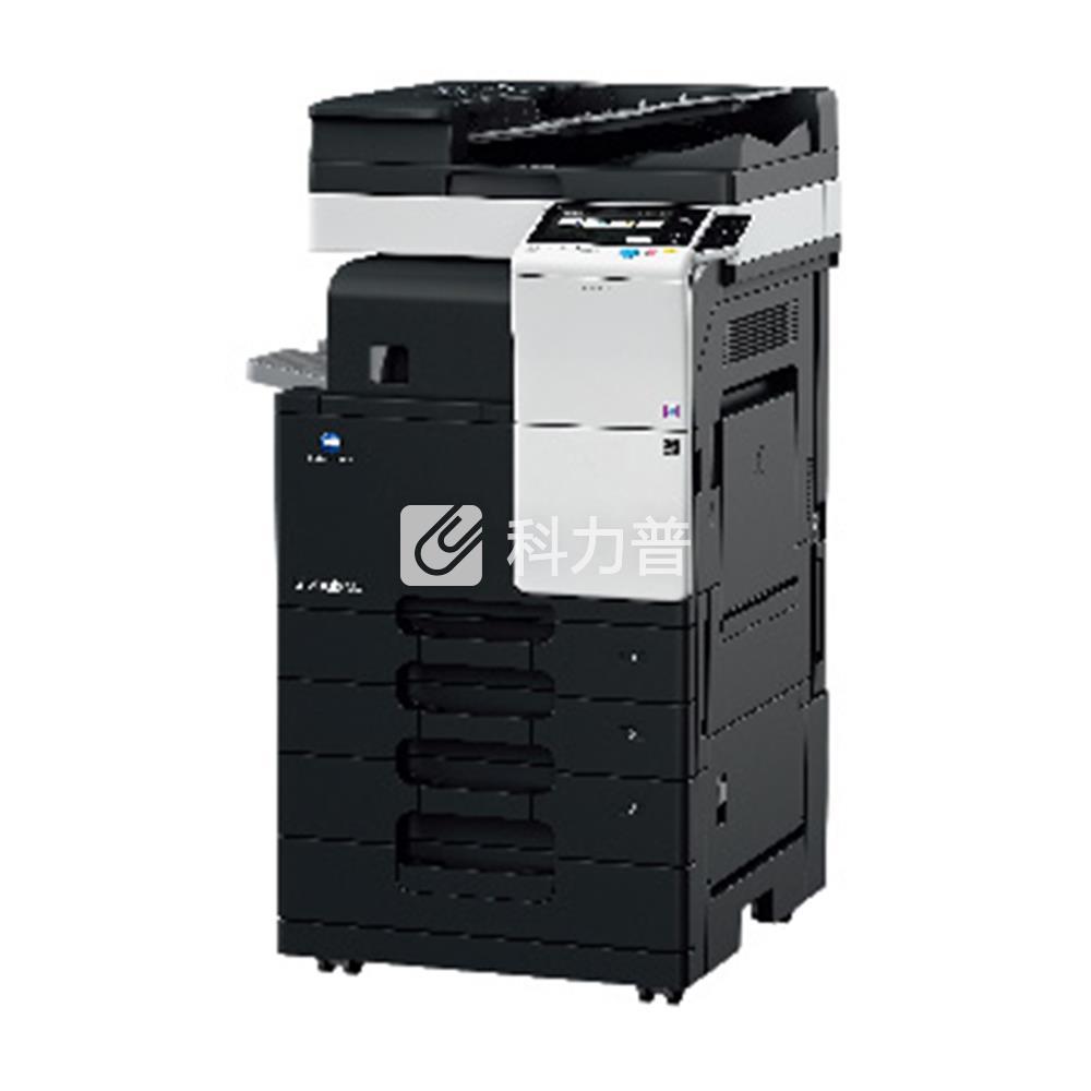 柯尼卡美能达KonicaMinolta黑白数码复合机bizhub287(含双面输稿器、双纸盒、原装工作台)