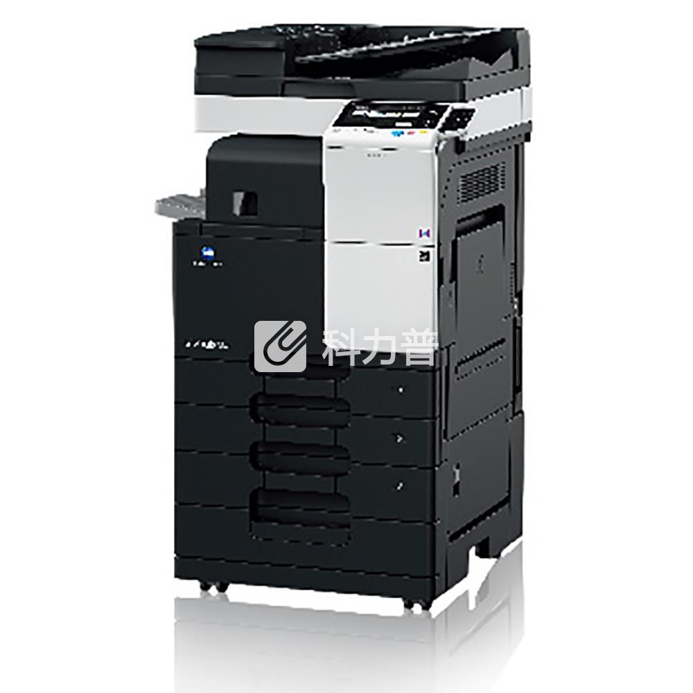 柯尼卡美能达KonicaMinolta黑白数码复合机bizhub367(含双面输稿器、双纸盒、原装工作台)