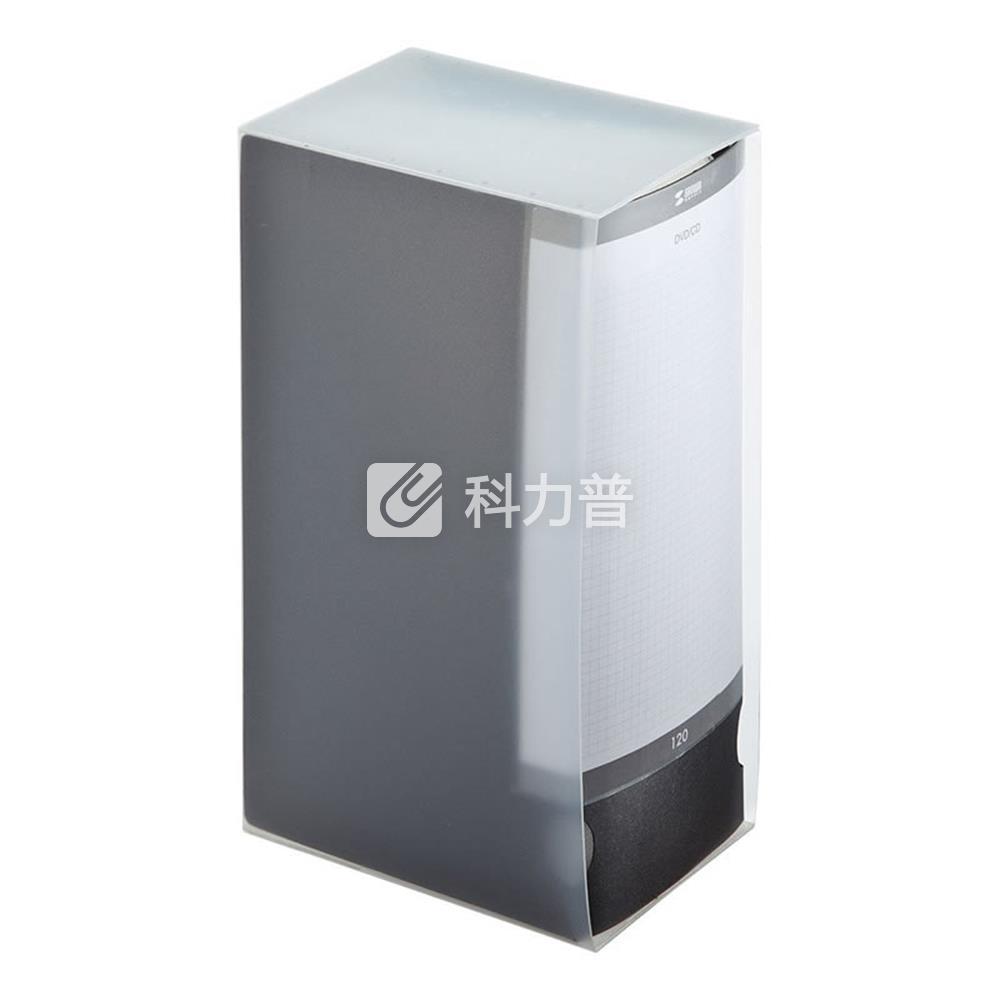 山业 SANWA SUPPLY 文件夹式CD/DVD收纳盒 120片 FCD-FL120BK(黑色)