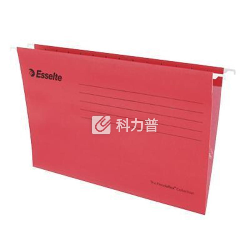 易达 Esselte 便达飞吊式挂快劳 393117 FC 403*245mm (红色) 25片/包