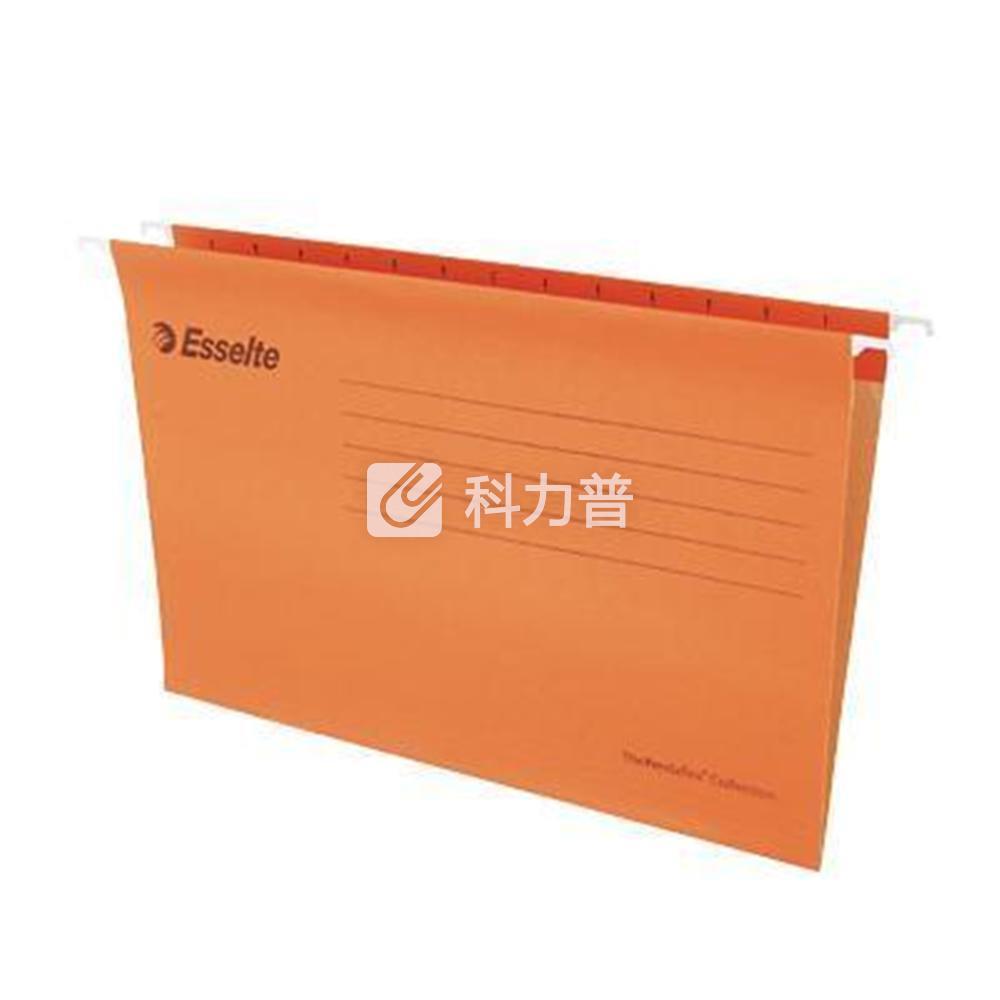 易达 Esselte 便达飞吊式挂快劳 393119 FC 403*245mm (橙色) 25片/包