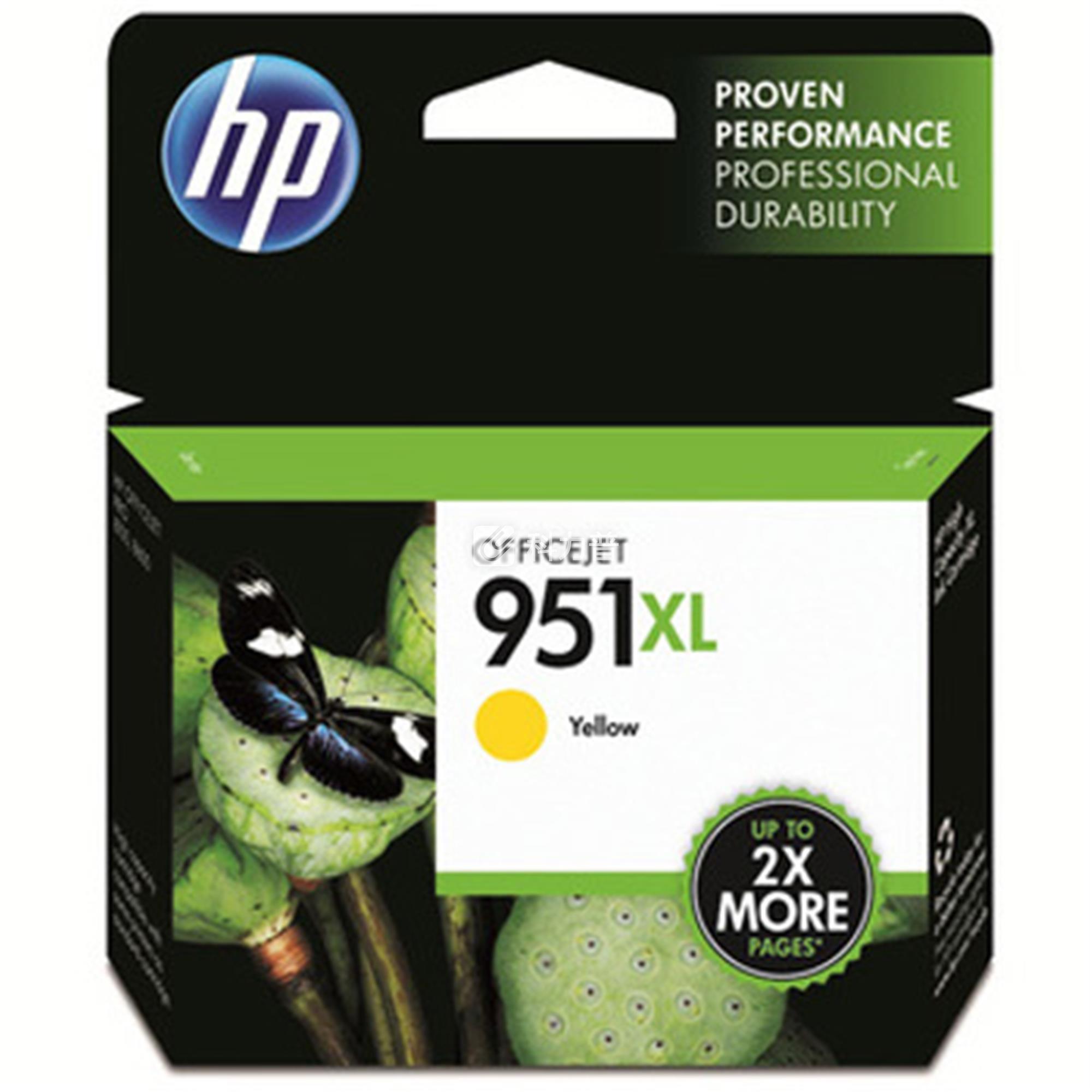 惠普 HP 大容量墨盒 CN048AA 951XL (黄色)