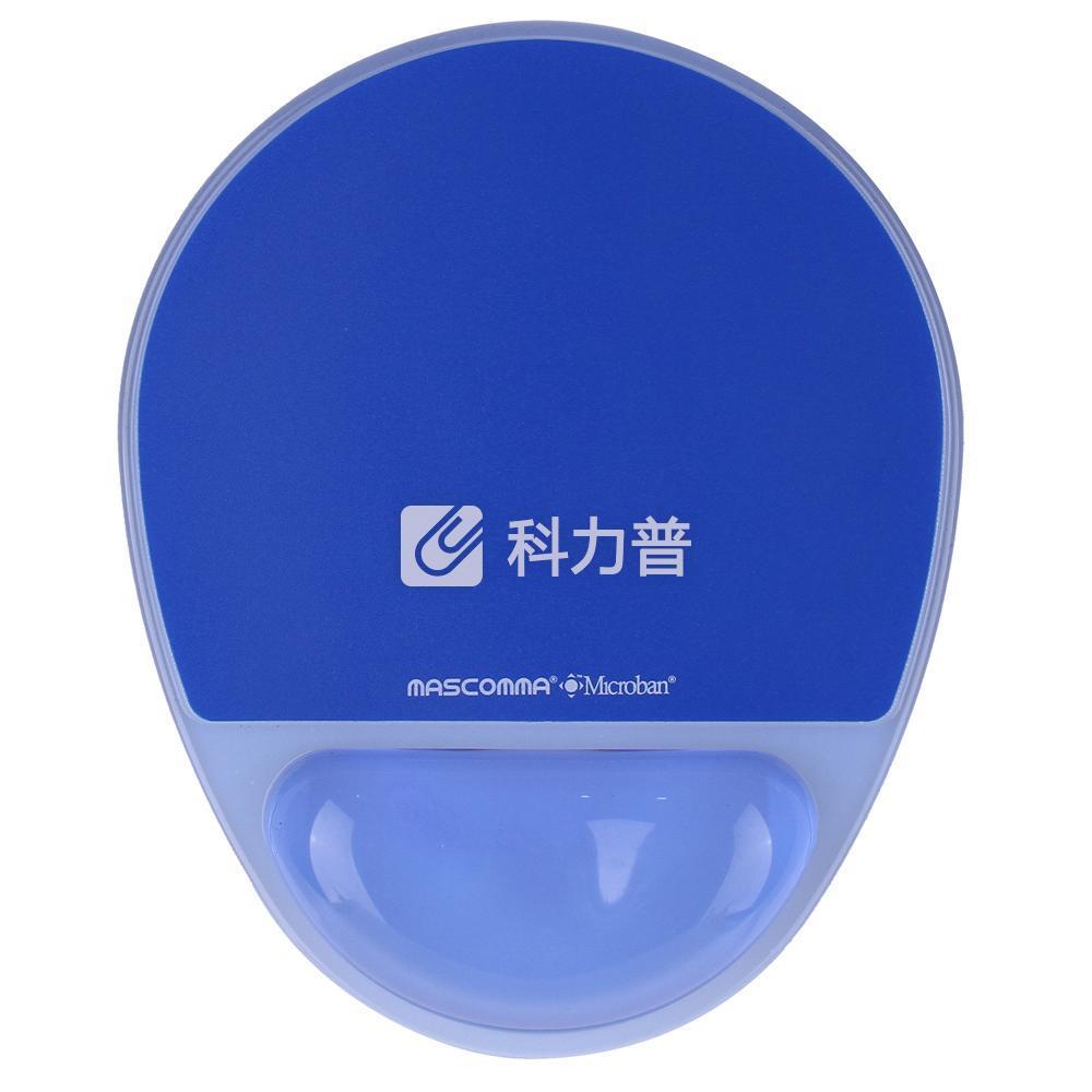 MASCOMMA 波浪腕托鼠标垫 (深海蓝)