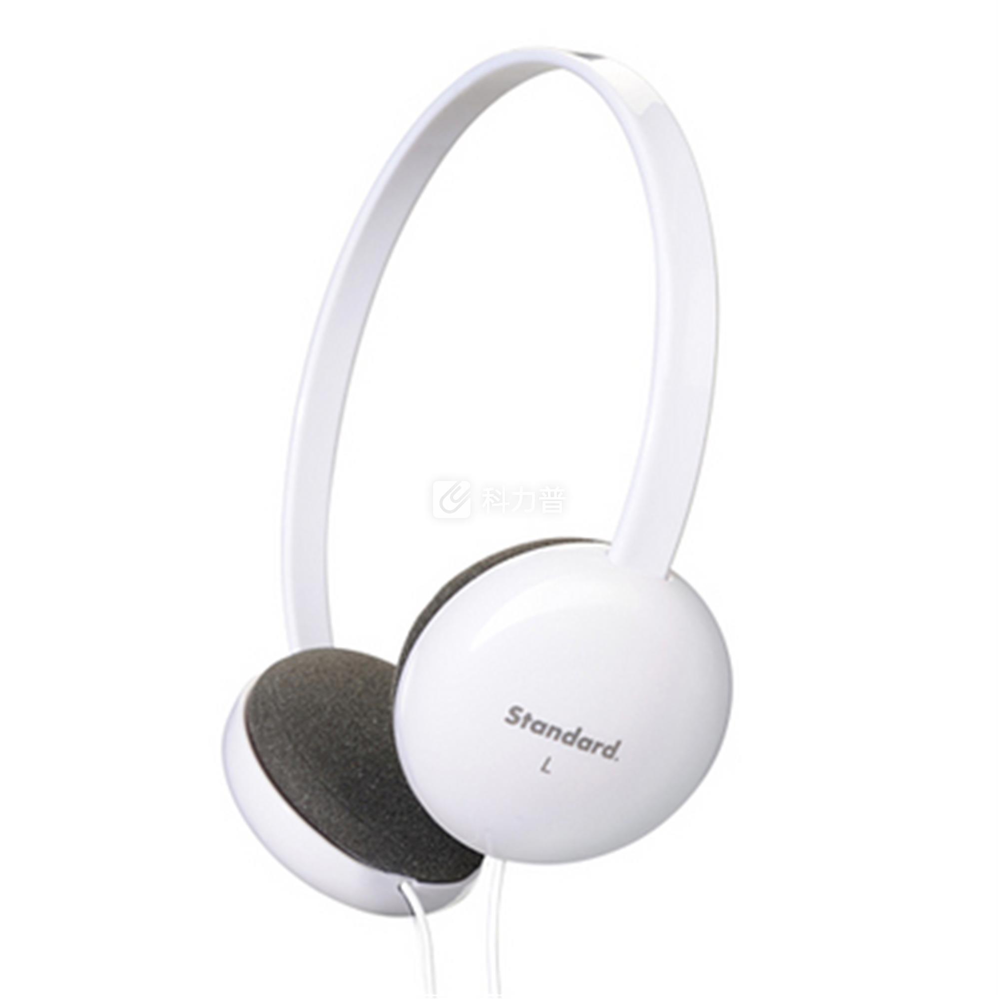 山业 SANWA 头戴式耳机 mm-HPST01W (白色)