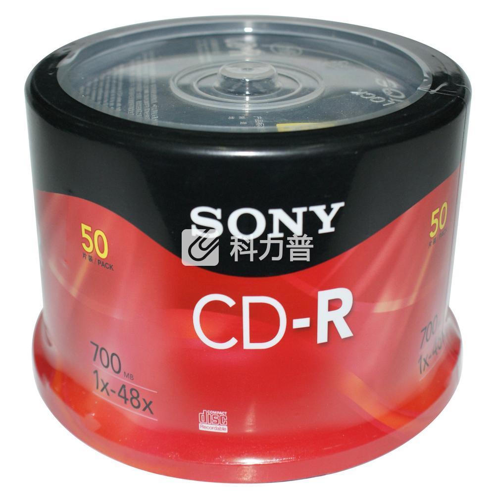 索尼 SONY 光盘 CD-R 48X 700MB 50片/筒
