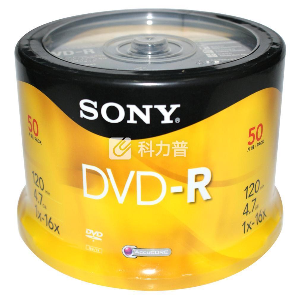 索尼 SONY 光盘 DVD-R 16X 4.7G 50片/筒