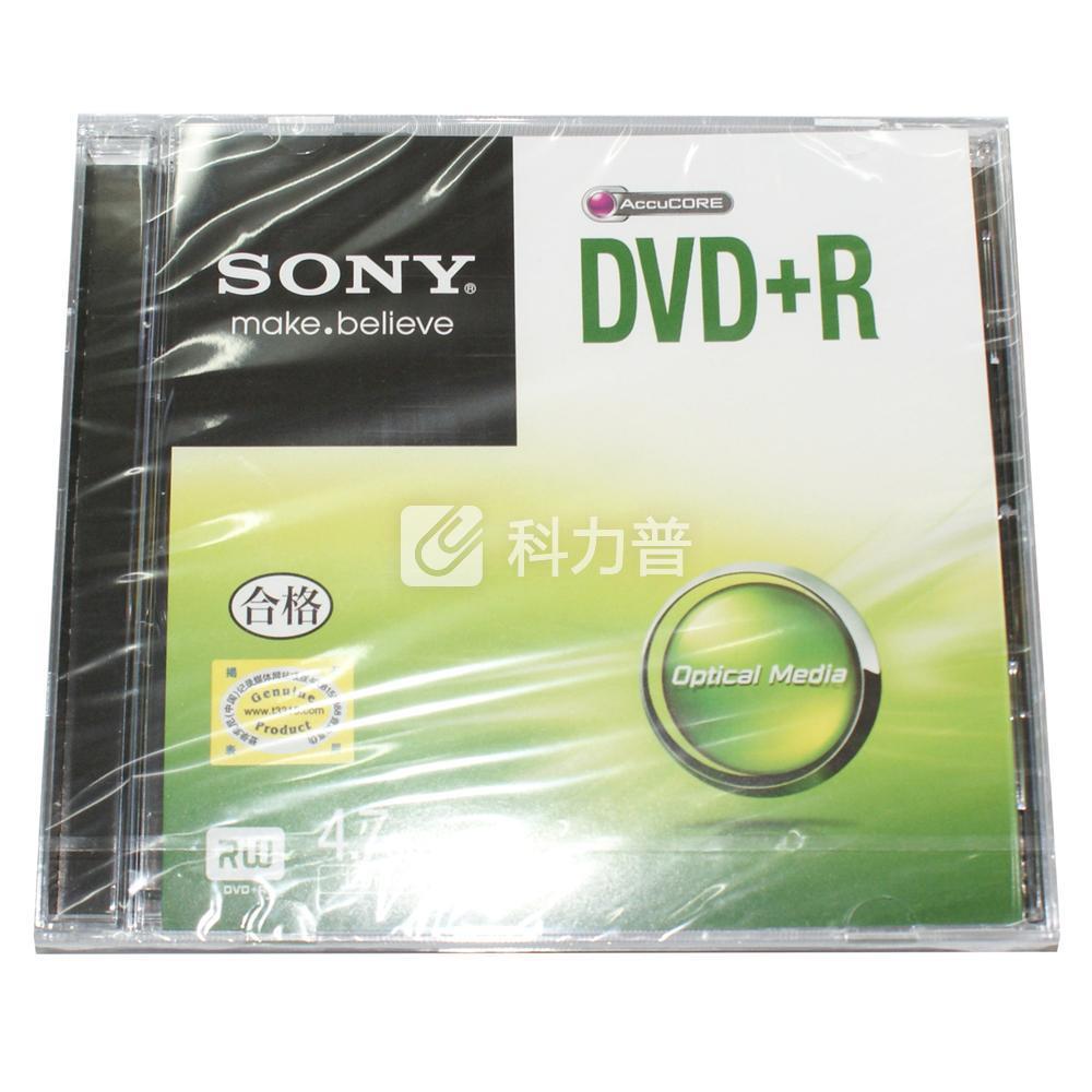 索尼 SONY 光盘 DVD R 16X 4.7G (单片装)
