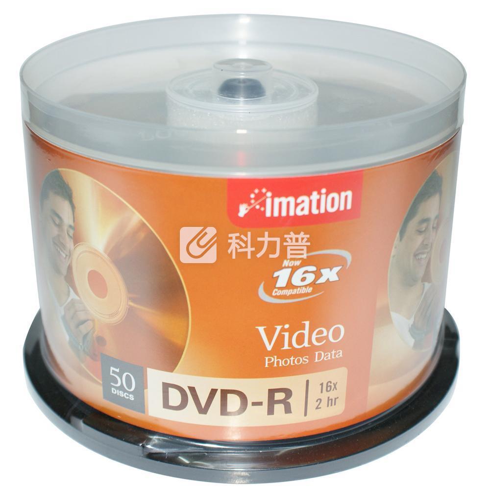 怡敏信 imation 光盘 DVD-R 16X 4.7G 50片/筒