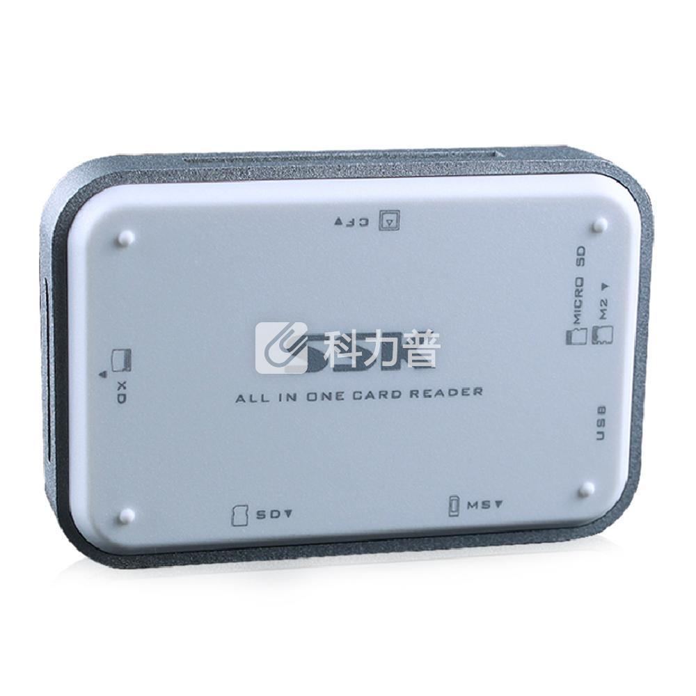 飚王 SSK 读卡器 白金多合一 SCRM056 USB3.0(白色)