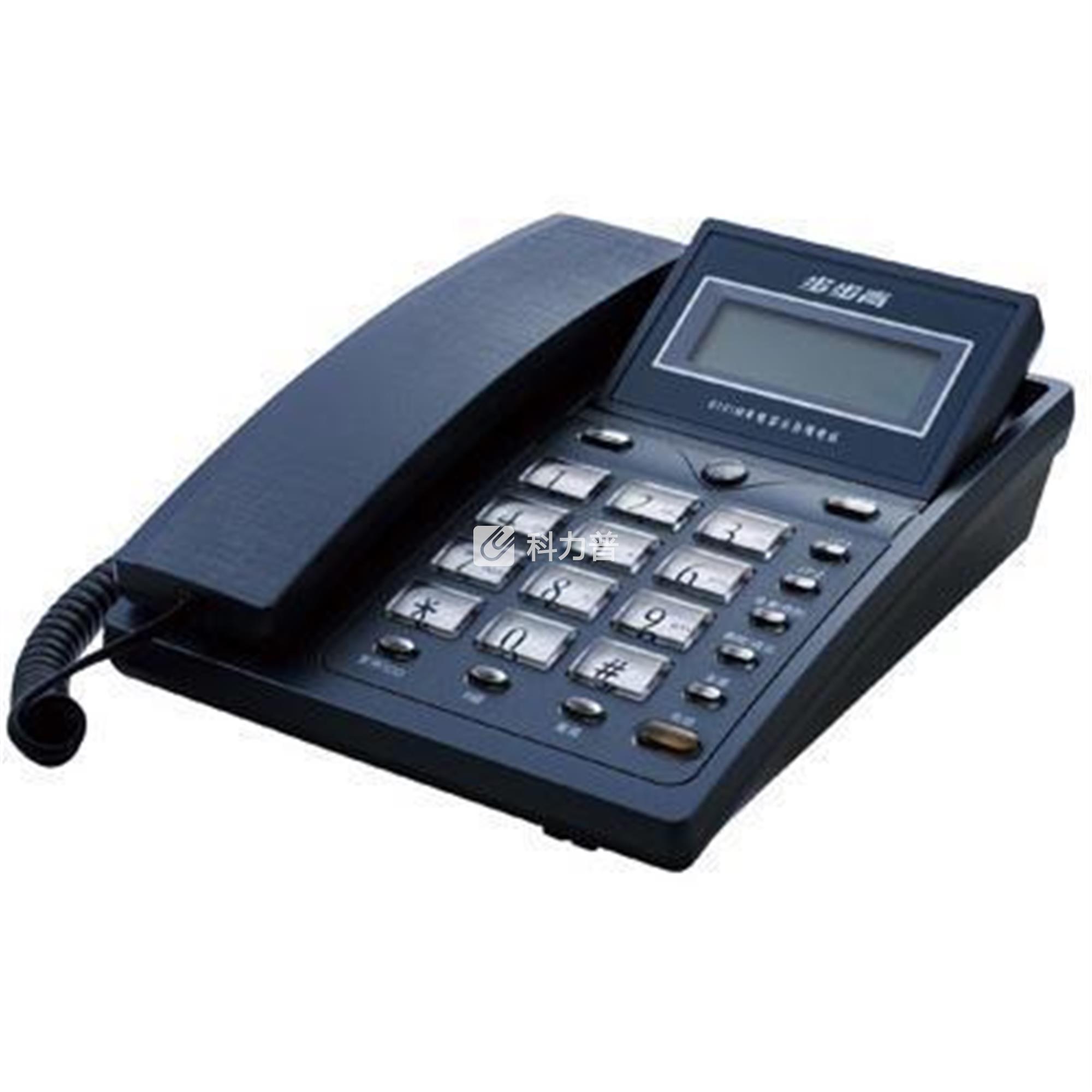 步步高 BBK 电话机 HCD007(6101)TSD(蓝色)带分机口