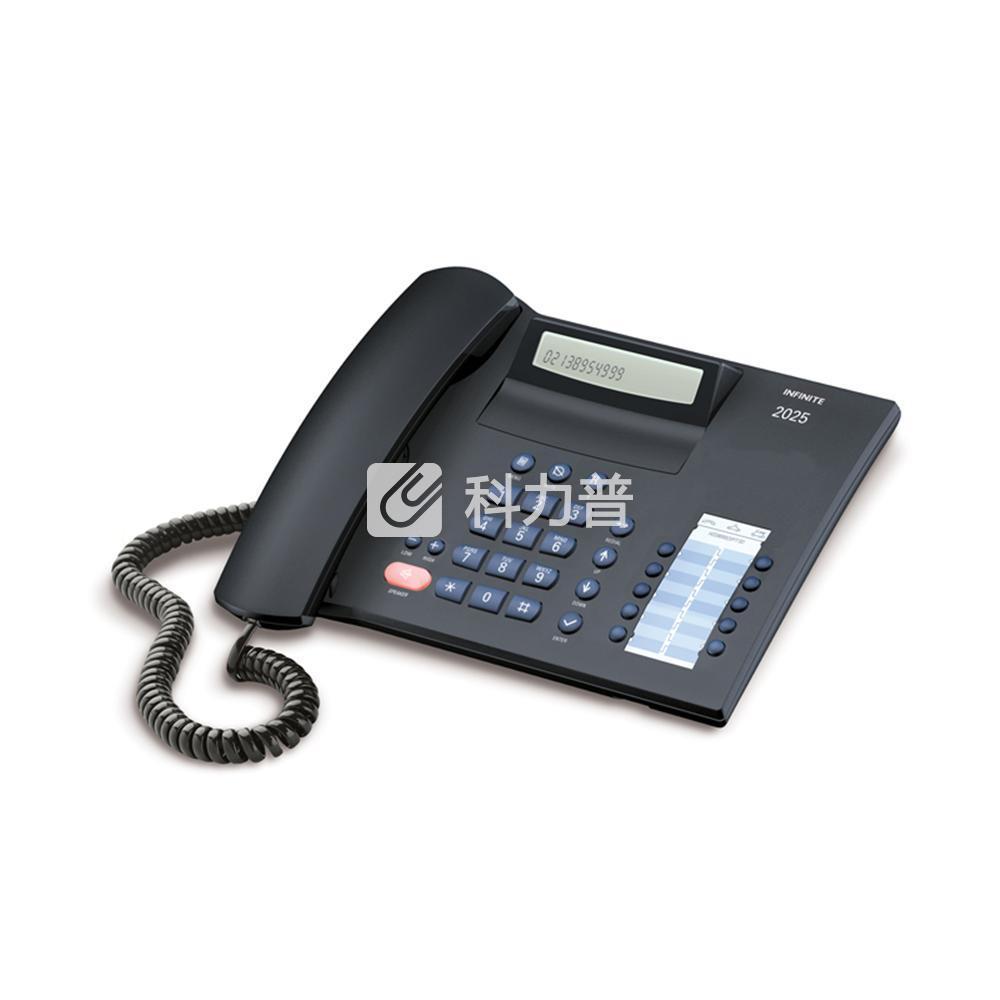 集怡嘉 Gigaset/西门子 电话机 HCD8000(4) P/TSD (2025C)(黑色)