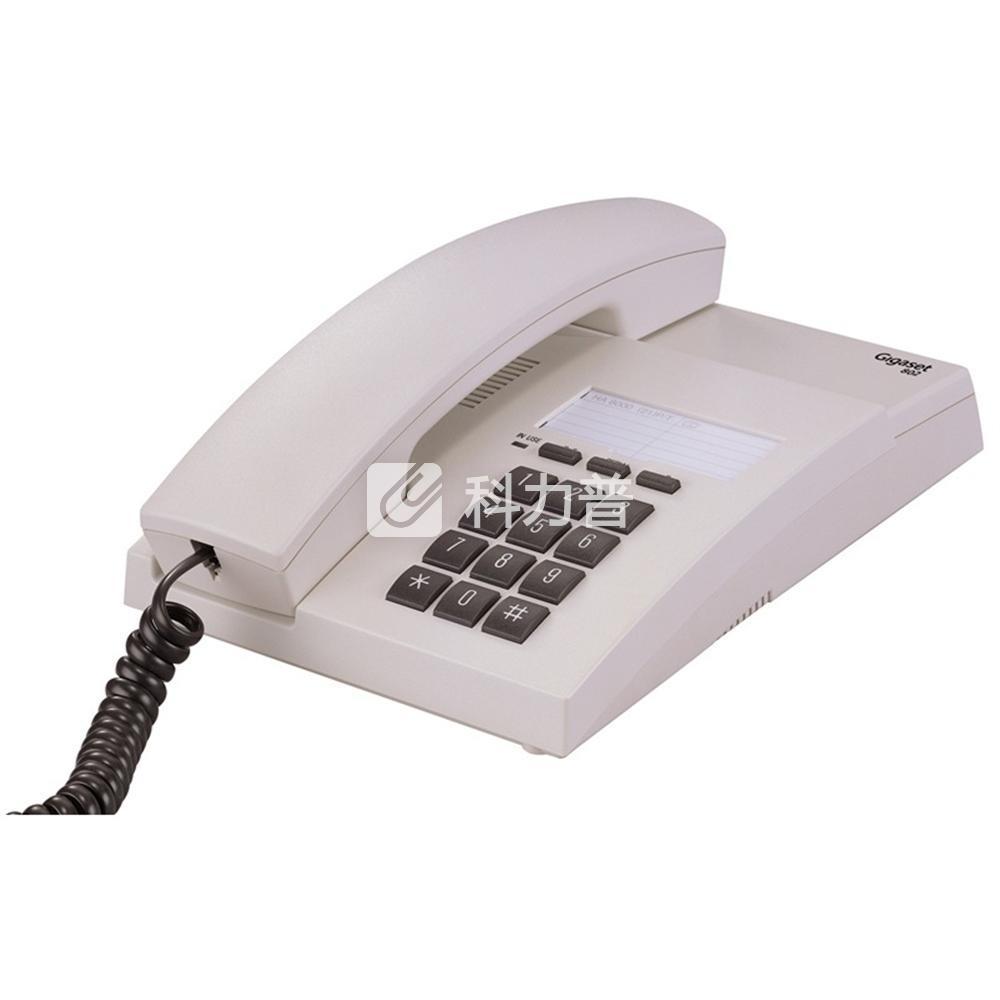 集怡嘉 Gigaset/西门子 电话机 HA8000(21)/(31) P/T(802)(淡灰)
