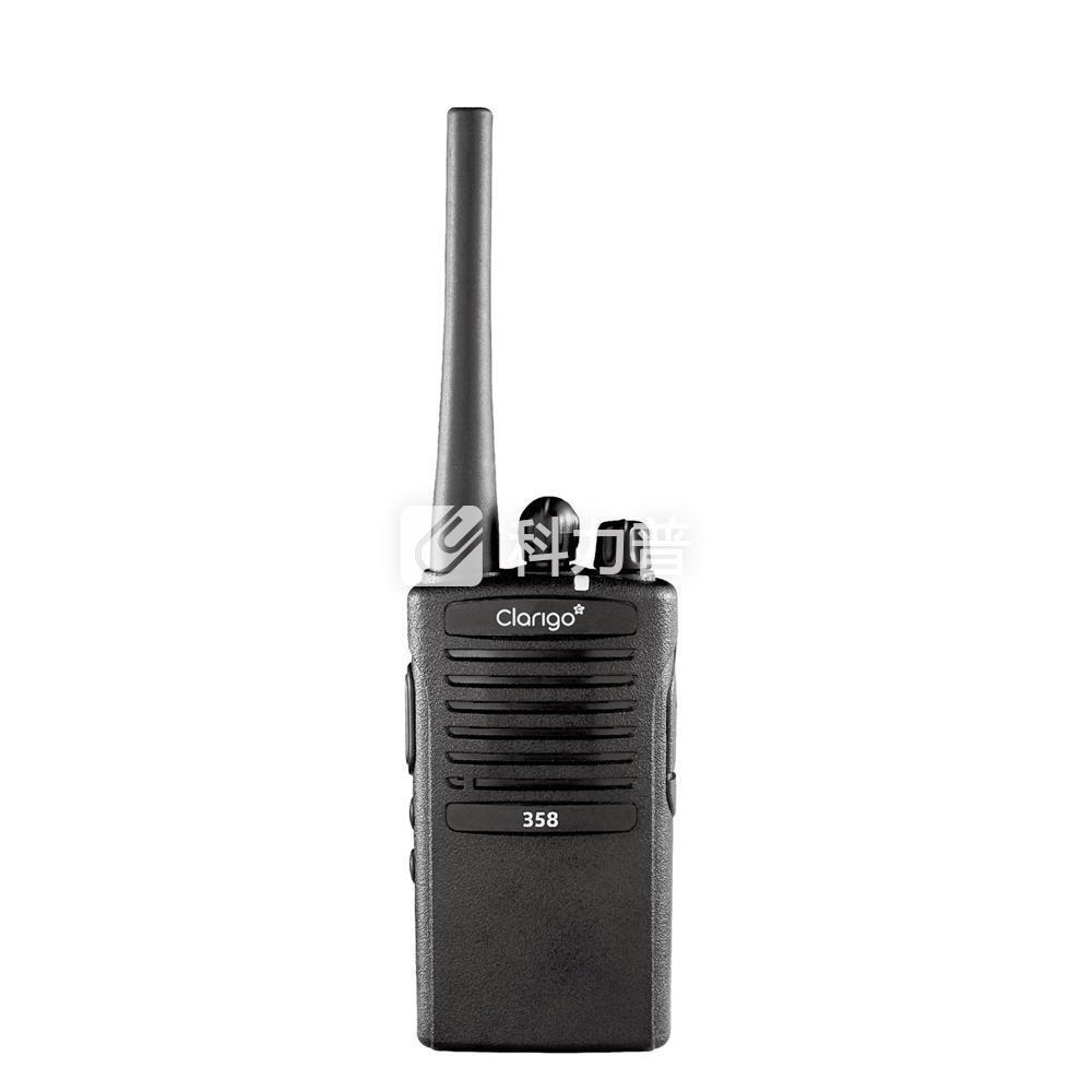 凯益星 Clarigo 商用对讲机 358 黑色 (锂电池 充电器 背夹 天线 纸盒装)