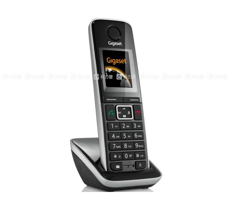 集怡嘉 Gigaset/西门子 数字无绳电话机  C810A (黑色)