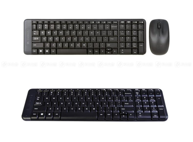 罗技 Logitech 无线键鼠套装 MK220