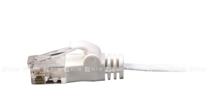 酷比客 L-CUBIC 超五类百兆网线 扁线 3米 (白色)