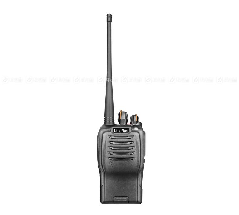 雷曼克斯 LineMax 专业对讲机 X5 黑色 (锂电池 充电器 背夹 天线 纸盒装)