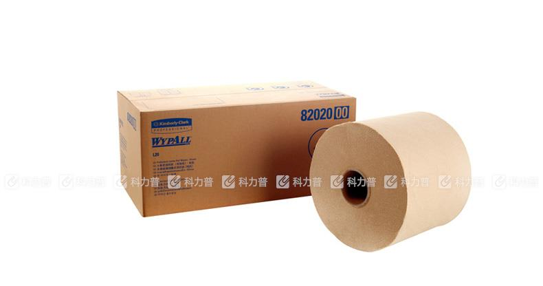 金佰利 工业擦拭纸(大卷式) 82020 L20 黄色 550张/卷 2卷/箱