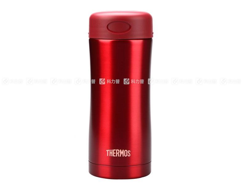 膳魔师 不锈钢真空保温杯 JCG-400 红色
