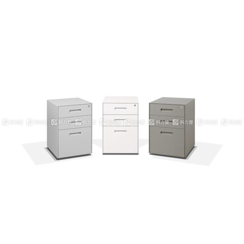 美时 三抽文件柜 Privi W400*D500*H605 (暖白色)