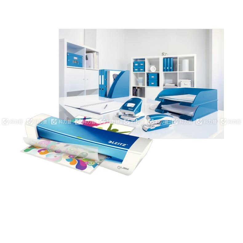 利市 LEITZ 塑封机 iLAM Home Office 73684036 (蓝) A4