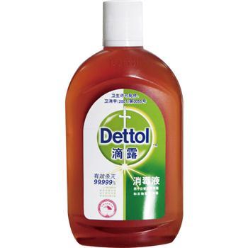 滴露 Dettol 消毒液 500ml/瓶 12瓶/箱