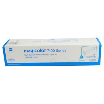 柯尼卡美能达 KONICA MINOLTA 高容量碳粉盒 8938640 mc7400系列 12K (蓝色)