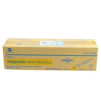 柯尼卡美能达 KONICA MINOLTA 高容量碳粉盒 A0V306N mc1600系列 2.5K (黄色)