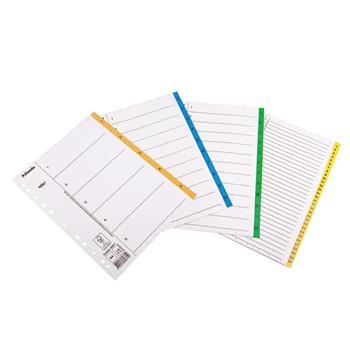 易达 Esselte 纸质数字1-5分类索引/分类纸 56115(69871) (彩色) 5页/套