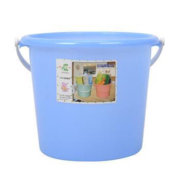 邦洁 无盖塑料水桶 VD-13 23.5*20.5cm (混色)