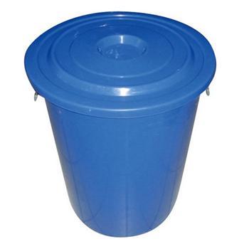 滋仁 带盖圆桶 150L (蓝色)
