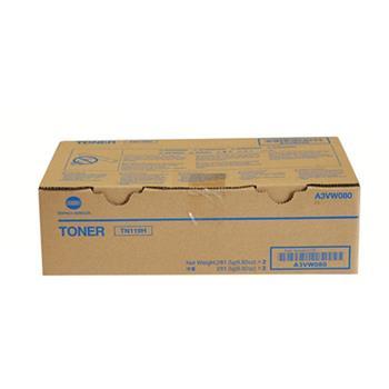 柯尼卡美能达 KONICA MINOLTA 原装墨粉 TN119H (黑色) 2支/盒