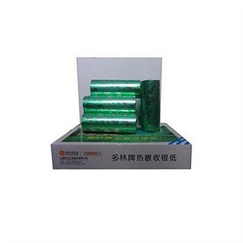 多林 DL Duolin 热敏收银纸 宽幅57mm*外径50mm 2卷/筒 60筒/箱