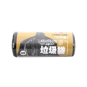科力普 COLIPU 加厚型垃圾袋 45cm*55cm (黑色) 30只/卷 100卷/箱