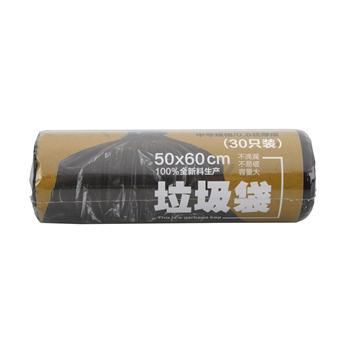 科力普 COLIPU 特惠型垃圾袋 50cm*60cm (黑色) 30只/卷 50卷/箱