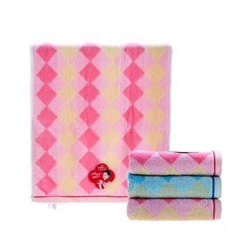 洁丽雅 grace 纯棉面巾单条装 8701-1 72*34cm 100g/条 (礼盒)