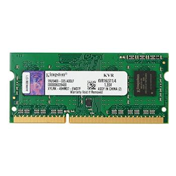 金士顿 Kingston 笔记本内存 KVR16LS11/4 DDR3 1600 4GB 低电压版