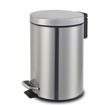 邦洁 经典静音脚踏垃圾桶 EK 9215 24.5*40.5cm 12L