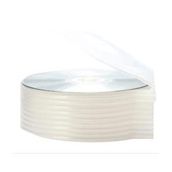 国产 圆形光盘盒 (白色) 单片装 厚度4mm(联想专用)