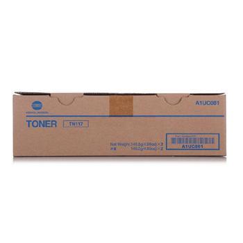 柯尼卡美能达 KONICA MINOLTA 墨粉 TN117 A1UC081 (黑色) 2支/盒
