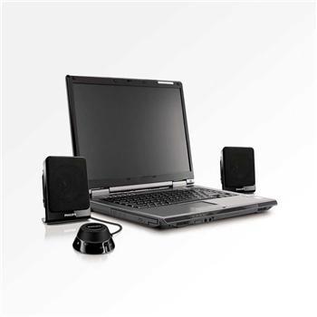 飞利浦 PHILIPS 多媒体音箱 2.1声道 线控 SPA1312 (黑色)