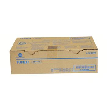 柯尼卡美能达 KONICA MINOLTA 墨粉 TN117H A1UC080 (黑色) 2支/盒 按单支出售