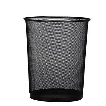 晨光 M&G 圆形金属丝网垃圾桶/废纸篓 ALJ99402 28*26cm 11L