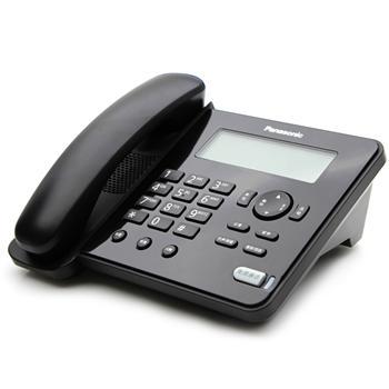松下 Panasonic 电话机 KX-TS388CN (黑色) 带分机口