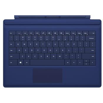 微软 Microsoft 平板电脑键盘盖 (蓝色) (适用于Surface Pro 3)